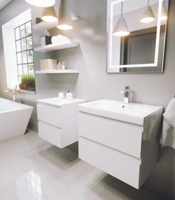 COMO 3 lacquer white high gloss