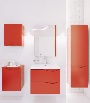 MURCIA 01 lacquer red high gloss
